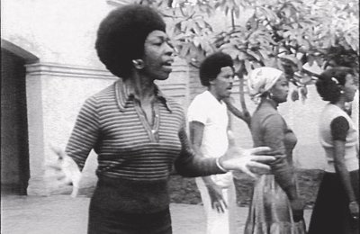 Image: Victoria Santa Cruz, Me gritaron negra (They Shouted Black at Me), 1978. Image courtesy OTA-Odin Theatre Archives.